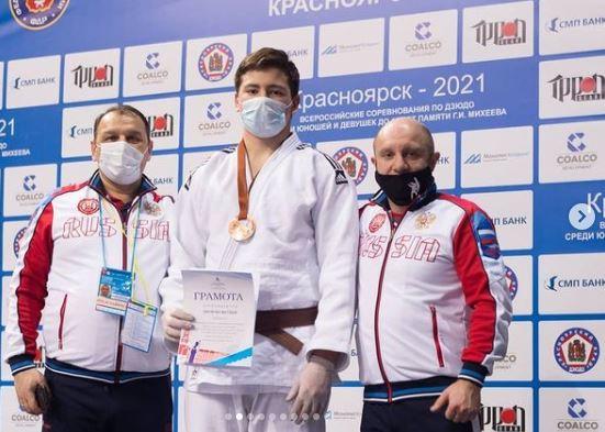 Оренбуржец Матвей Литягин завоевал бронзу Всероссийского турнира по дзюдо