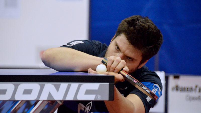 Оренбург принимает матчи третьего тура клубного Чемпионата России по настольному теннису