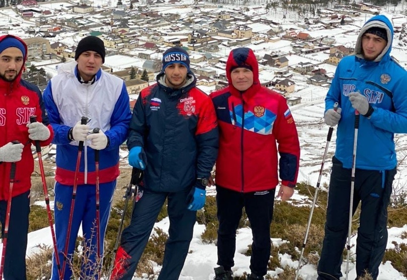 Оренбургские боксёры проходят тренировочный сбор в Приэльбрусье