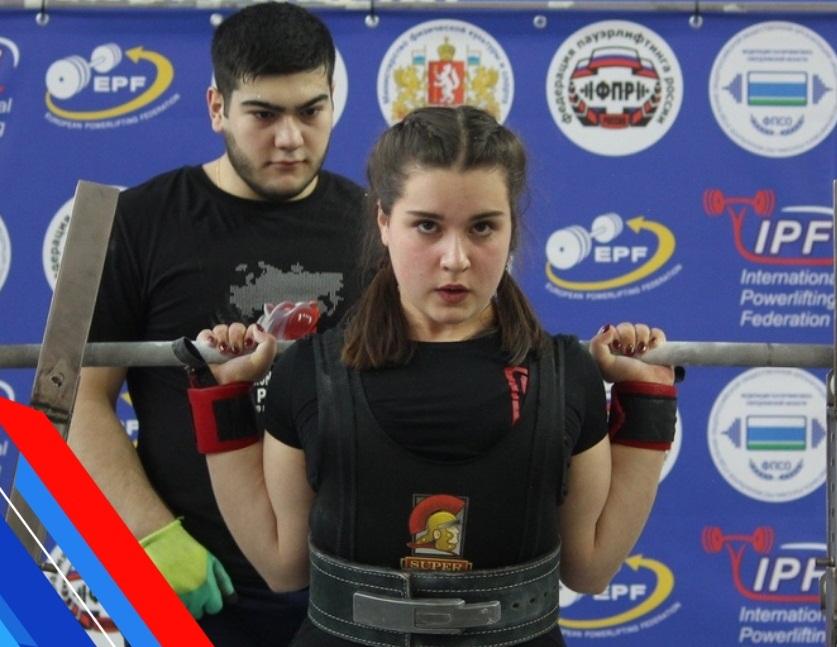 Оренбурженка Дарья Ломацкая стала двукратной чемпионкой России по пауэрлифтингу