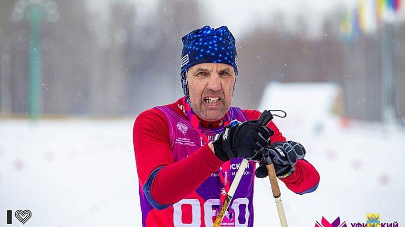 Президент федерации лыжных гонок Оренбурга завоевал бронзу «Уфимского марафона»