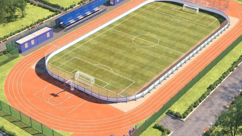 В Абдулино за год построят новый спорткомплекс с полем для футбола, беговыми дорожками и уличными тренажерами