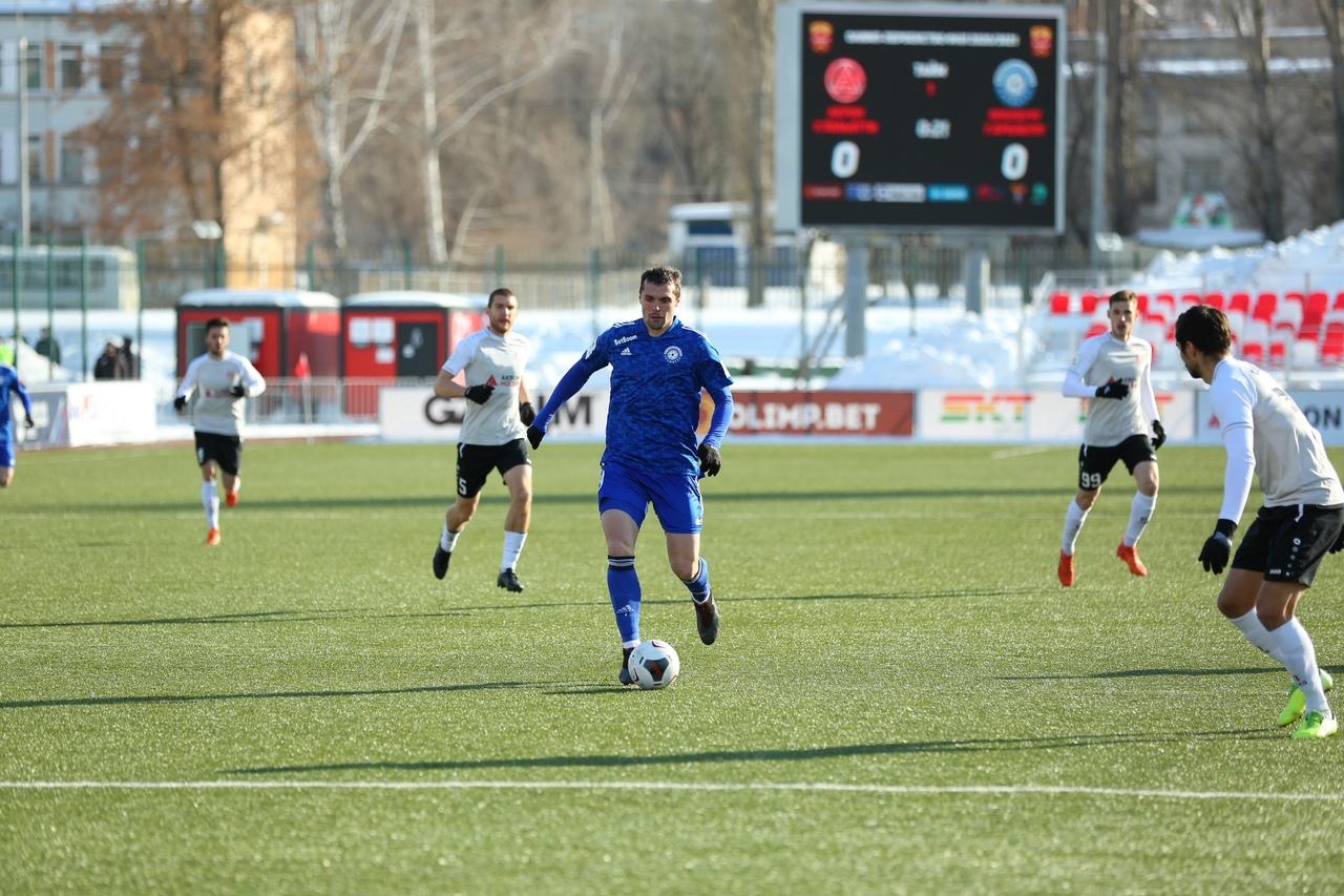 «Оренбург» сыграл вничью в Жигулевске и откатился на 3 место