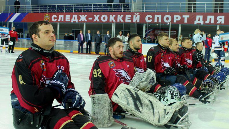 Оренбург принимает матчи сильнейших следж-хоккейных клубов страны