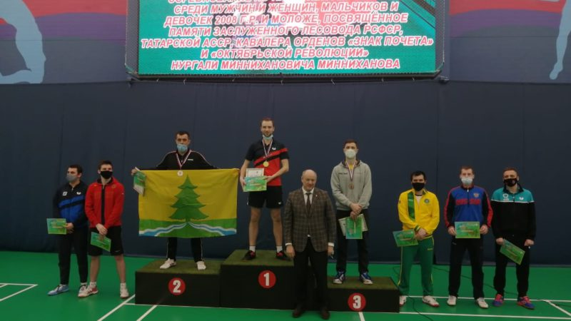 Оренбуржцы увезли серебро и золото с теннисного турнира в Татарстане