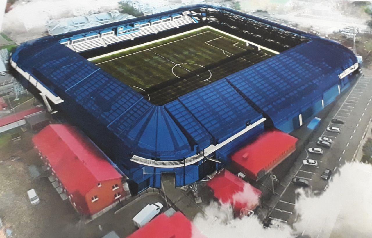 Стадион «Газовик» готовят к реконструкции: проектные работы оценили в 12 миллионов рублей