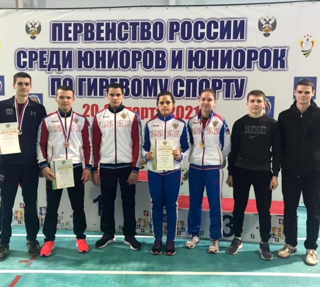Оренбурженка Эльвира Сатлыкова выиграла первенство России по гиревому спорту