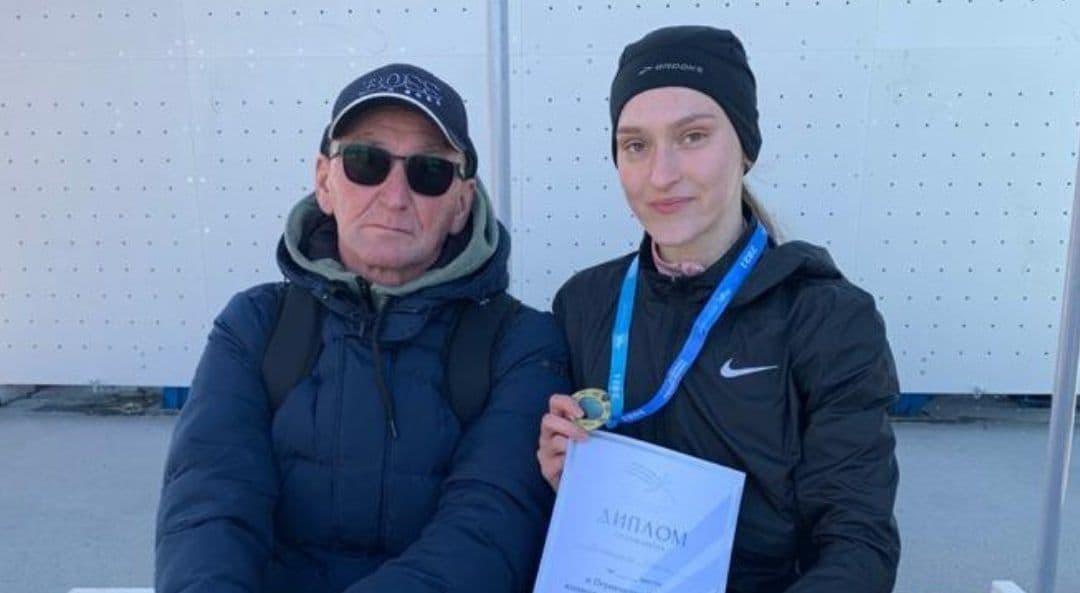 Оренбурженка взяла золото первенства России по кроссу