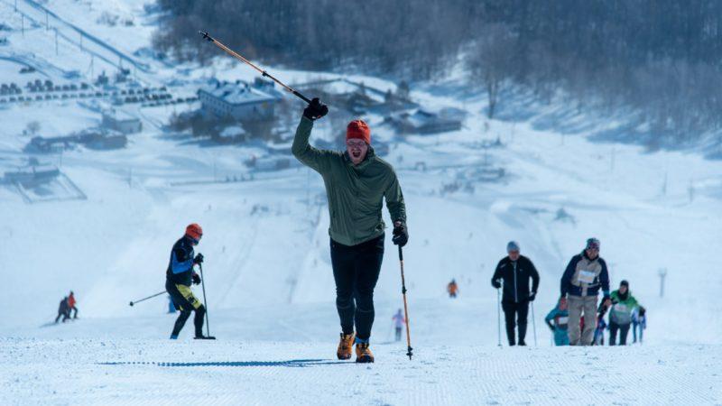 Безумный старт в -28 градусов: В Оренбуржье бегуны покорили KUVA ICEPEAK 2021