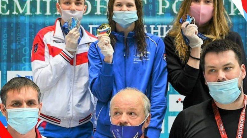 Мария Каменева стала мультимедалисткой чемпионата России по плаванию
