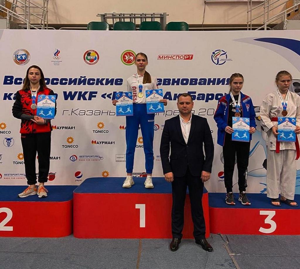 Оренбургские каратисты завоевали золото и две бронзы Всероссийских соревнований