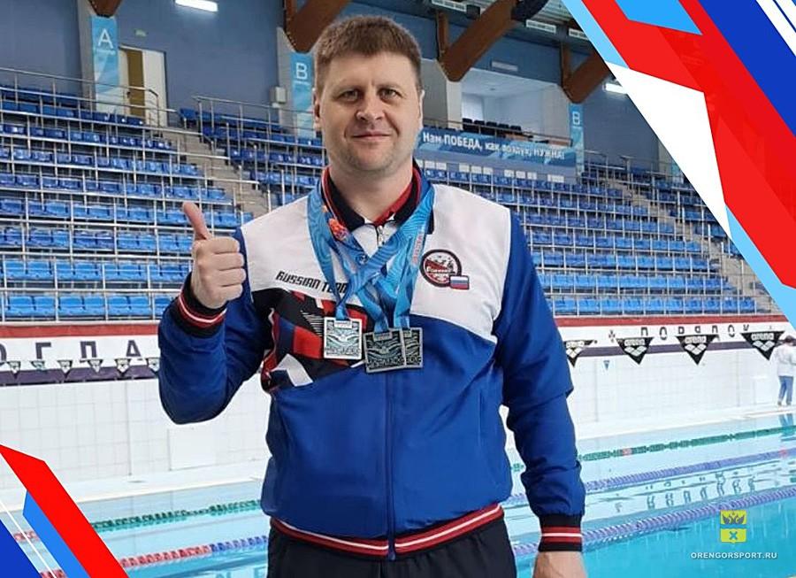 Оренбургский пловец Олег Андронов завоевал 3 медали Чемпионата России