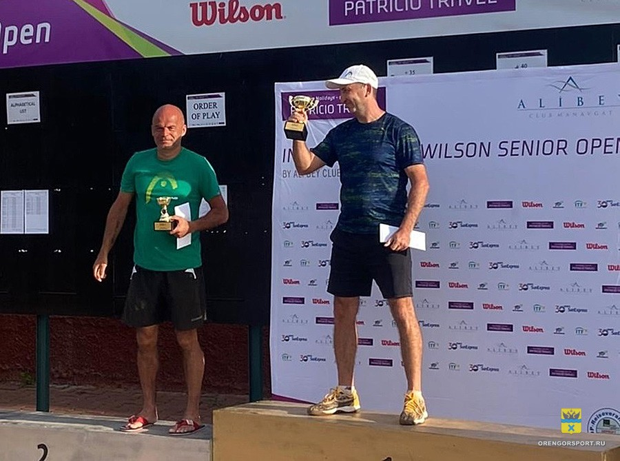 Оренбуржец вошел в ТОП-7 сильнейших теннисистов мира в категории 45+