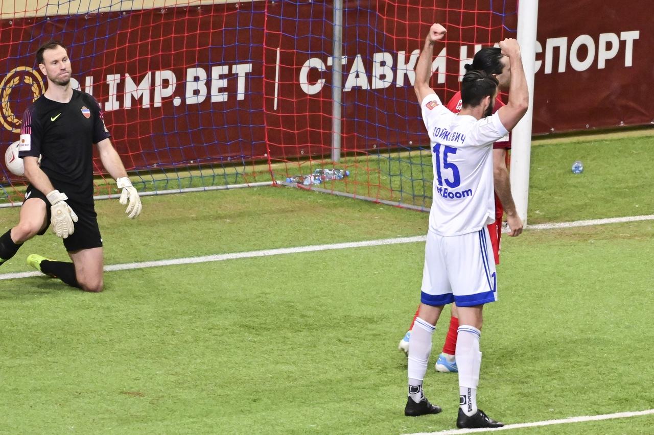 «Оренбург» победил в Красноярске