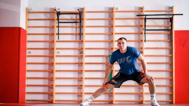 UFC 262: Дамир Исмагулов готовится к бою в клубе «Боец»