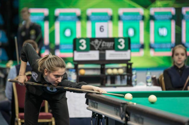 Диана Миронова стала 12-кратной чемпионкой России по бильярдному спорту