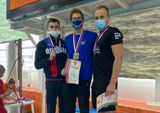 Орчанин Алексей Федькин стал четырехкратным чемпионом России по подводному спорту