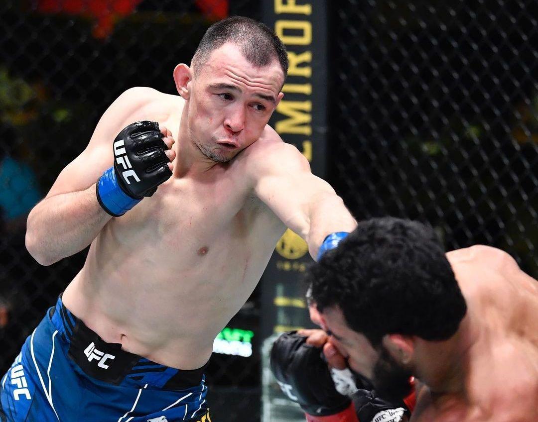 Дамир Исмагулов одержал четвертую победу в UFC