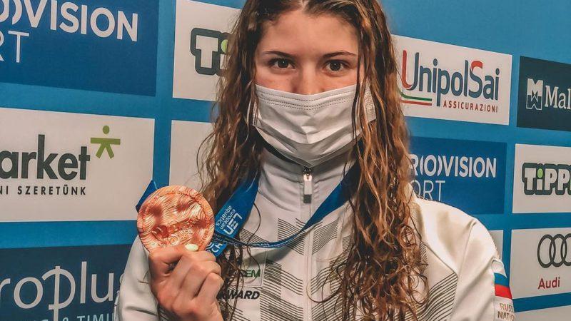 Серебро и две бронзы: Мария Каменева взяла три медали на Чемпионате Европы