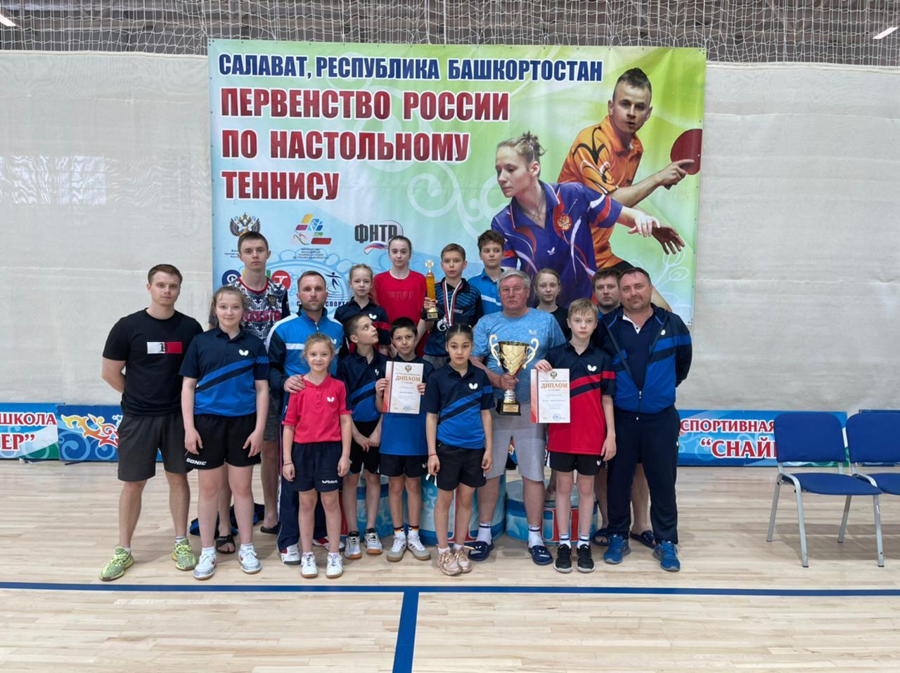 Воспитанники детской школы «Факел Газпрома» завоевали титул сильнейшей команды в России
