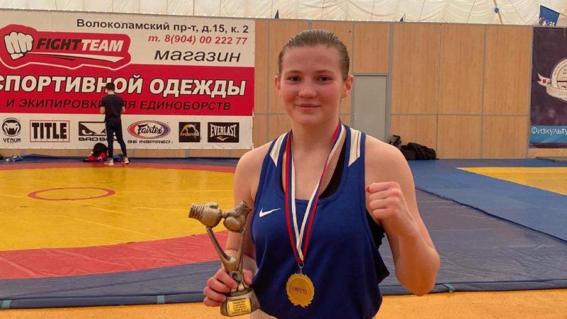 Оренбурженка Яна Мещерина стала победительницей всероссийского турнира