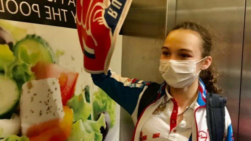Новый рекорд страны: Виктория Ищиулова стала чемпионом Европы по плаванию
