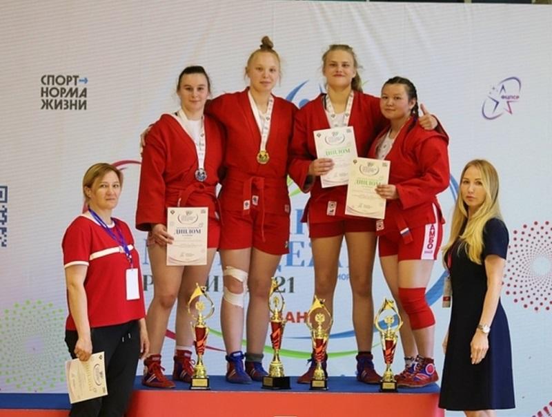 Самбистка Ильвина Досаева завоевала «бронзу» в Казани