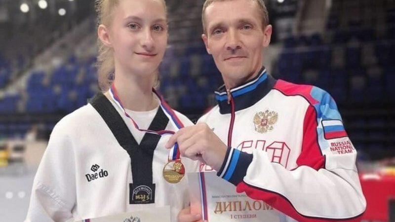 Дарья Солосич взяла «золото» первенства России по тхэквондо
