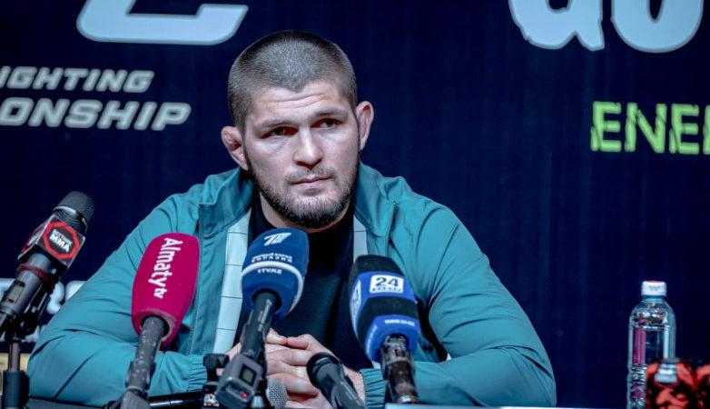 Хабиб Нурмагомедов отметил Дамира Исмагулова как яркого и перспективного бойца