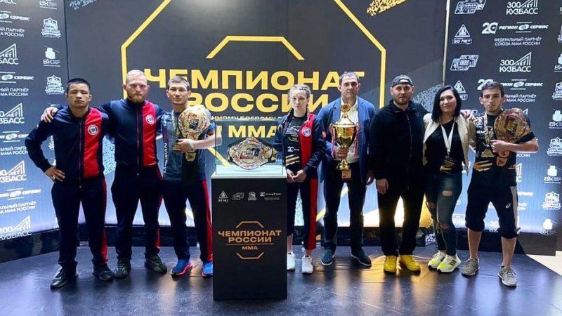 Два золота, серебро и бронза. Оренбургские спортсмены триумфально выступили на Чемпионате России по ММА