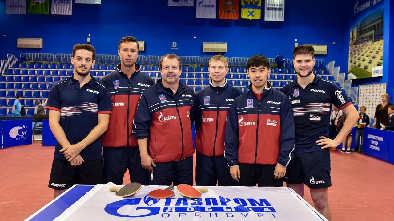 Спортсмены «Факел Газпрома» вошли в рейтинг сильнейших теннисистов мира