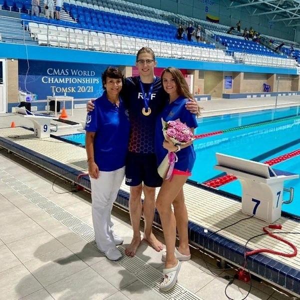 Орчанин Алексей Федькин стал Чемпионом мира по подводному спорту
