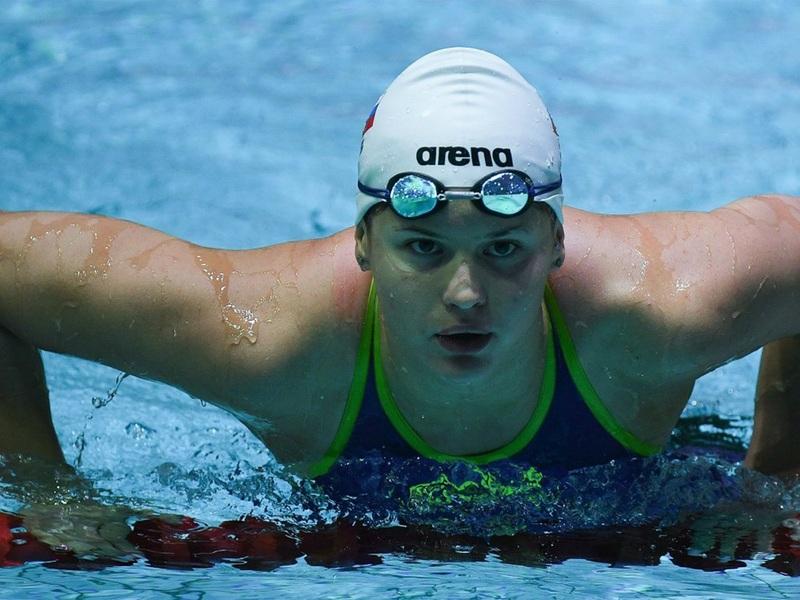 Оренбургская пловчиха Мария Каменева не вышла в финал стометровки на спине на Олимпиаде