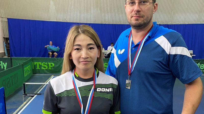 Оренбургские параспортсмены завоевали серебро Кубка России по настольному теннису