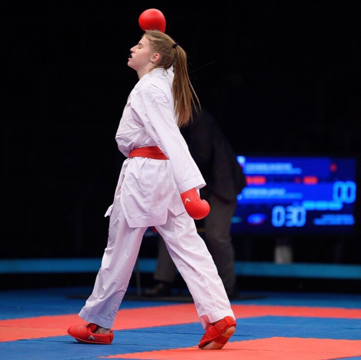 Оренбургская каратистка Валерия Голубева участвует в подготовке олимпийской сборной