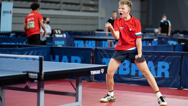 Алексей Самохин в составе сборной России завоевал бронзу Первенства Европы (U-15)