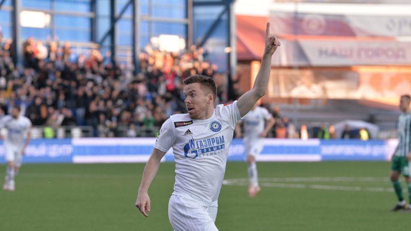 Экс-защитник «Оренбурга» Сергей Терехов сделал дубль в еврокубке