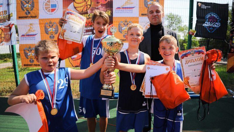 В Оренбурге пройдет турнир по баскетболу 3×3 «Оранжевый мяч»