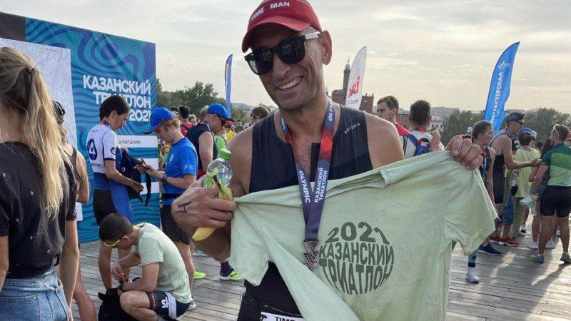 Дмитрий Васильев принял участие в Казанском триатлоне