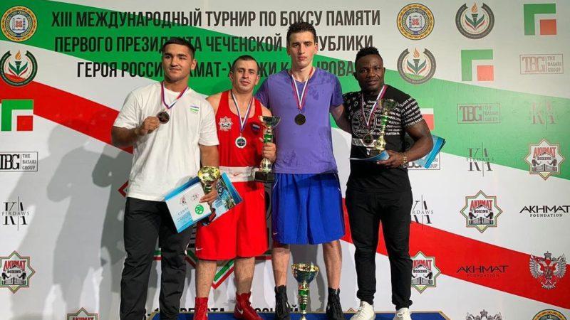 Абубакар-Салах Муцелханов из Оренбурга выиграл международный турнир в Грозном