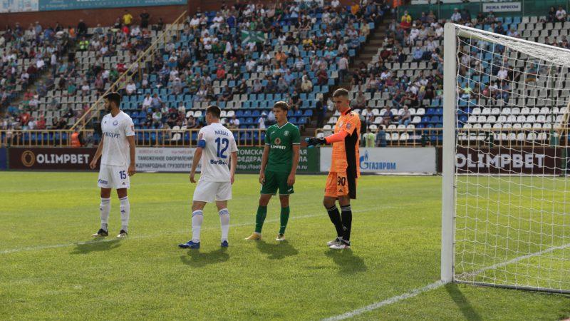 «Оренбург» на выезде обыграл «Томь»