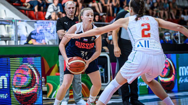 Юниорская сборная России с первого места вышла в плей-офф чемпионата мира по баскетболу