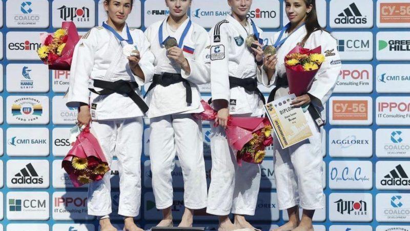 Оренбурженка Диана Тунян завоевала бронзу Кубка Европы по дзюдо