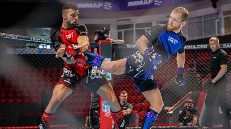Спортсмен сборной Оренбуржья по MMA вышел в 1/4 чемпионата Европы