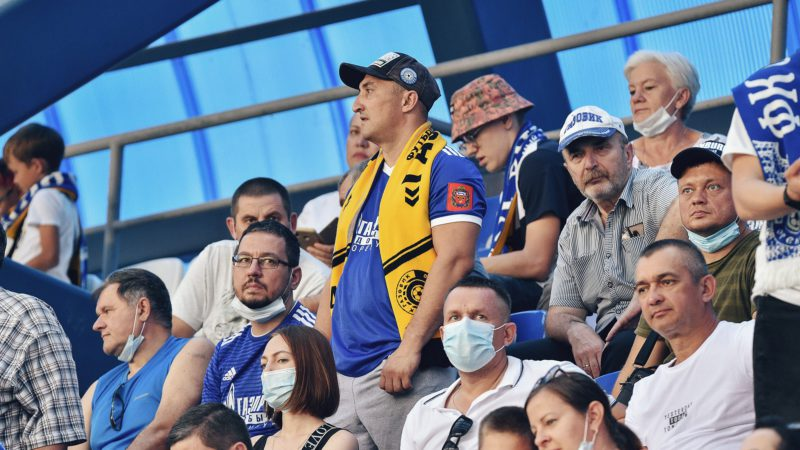 «Оренбург» объявил, что матч с «Велесом» пройдет при ограниченном количестве зрителей на трибунах