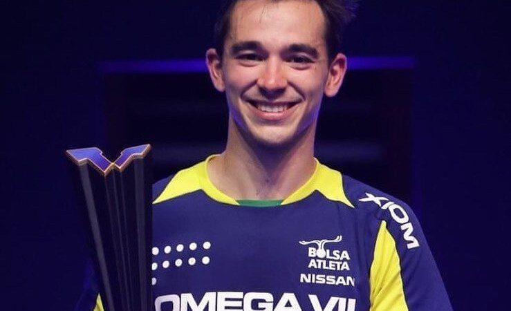 Игрок оренбургского клуба «Факел-Газпром» Уго Кальдерано стал победителем турнира WTT Star Contender Doha 2021