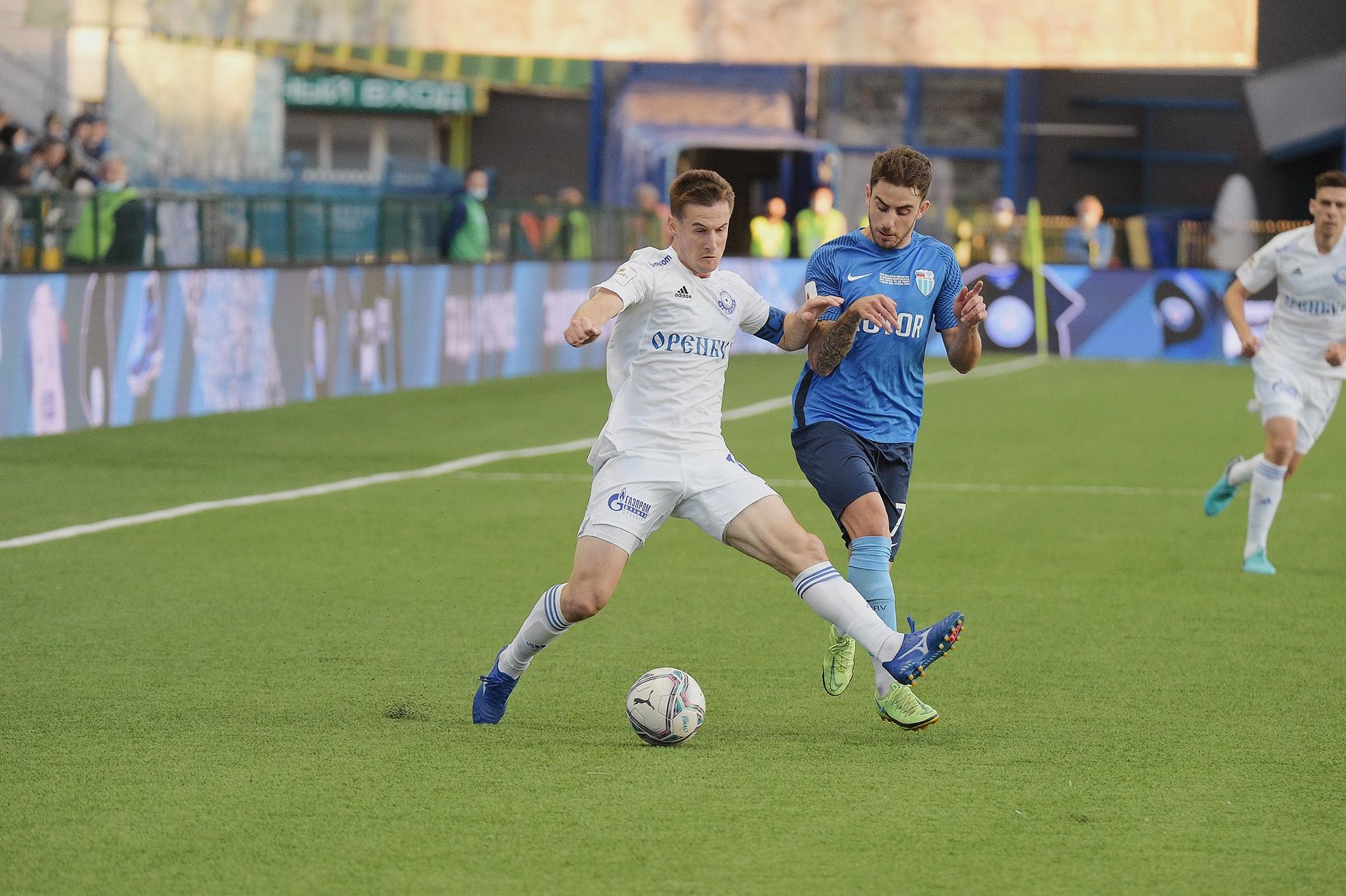 «Оренбург» сыграет с «Краснодаром-2». Андрей Малых пропустит матч из-за дисквалификации