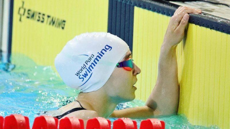 Орская пловчиха Виктория Ищиулова выиграла серебро Паралимпиады на стометровке баттерфляем
