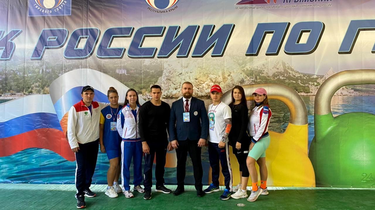Оренбуржец Анатолий Курунов стал серебряным призером Кубка России по гиревому спорту