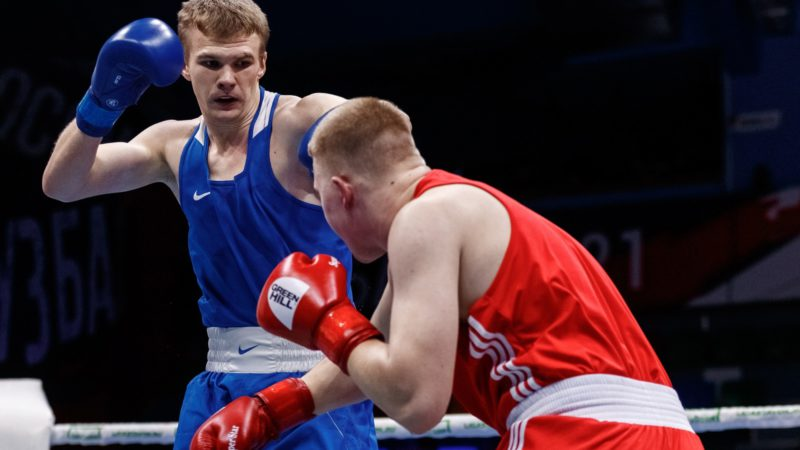 Алексей Зобнин и Абубакар-Салах Муцелханов встретятся друг с другом в четвертьфинале чемпионата России по боксу